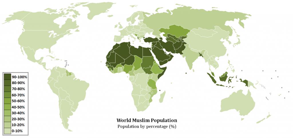 World_Muslim_Population_Map